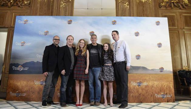 George Clooney presenta en Valencia  'Tomorrowland'