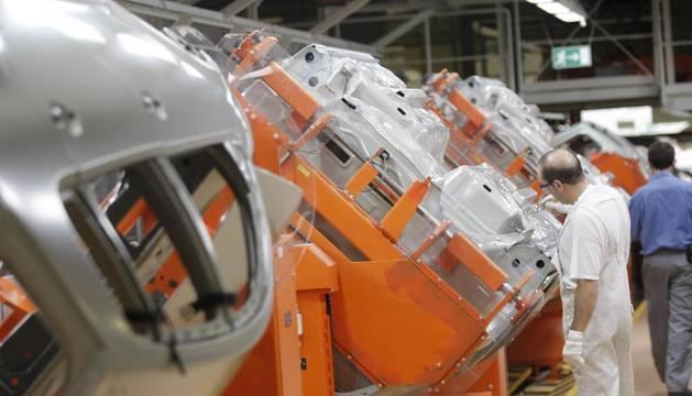 La nueva planta de pintura de VW-Navarra.