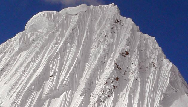 Javier Camacho, en el Himalaya.