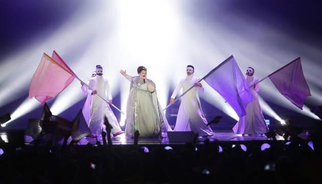 Eurovisión canta con el cuerpo para cientos los espectadores sordos