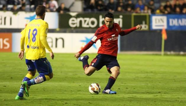 Nekounam, contra la UD Las Palmas.