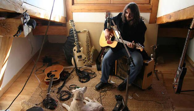 El músico beratarra Petti.