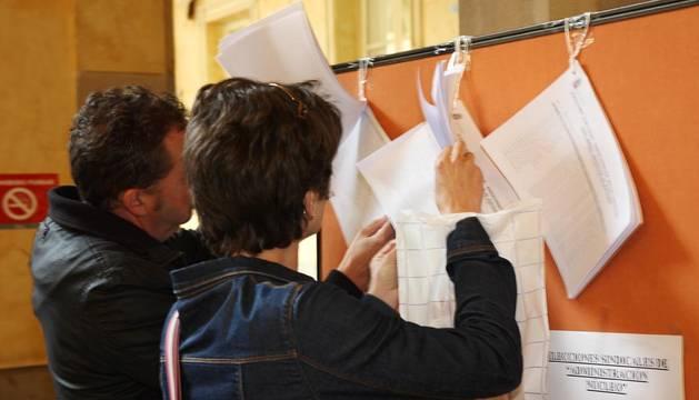 Elecciones sindicales en la Administración navarra