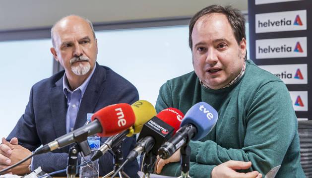 Iñaki Ániz, en rueda de prensa.
