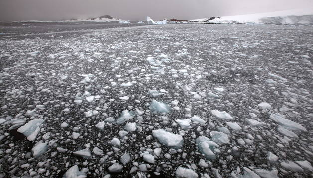 Imagen de la Antártida.