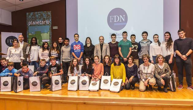 Fundación Diario de Navarra premia los reportajes de cinco equipos navarros