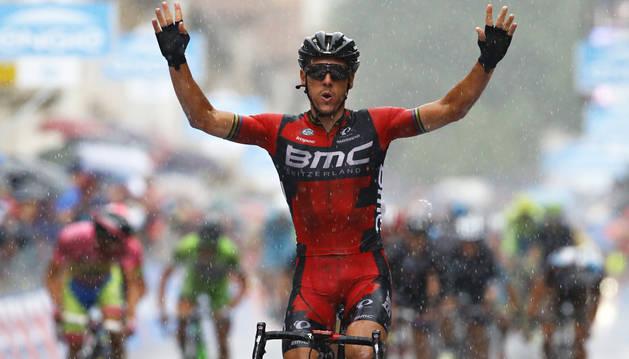 Gilbert vence en Monte Berico y Contador amplía la distancia