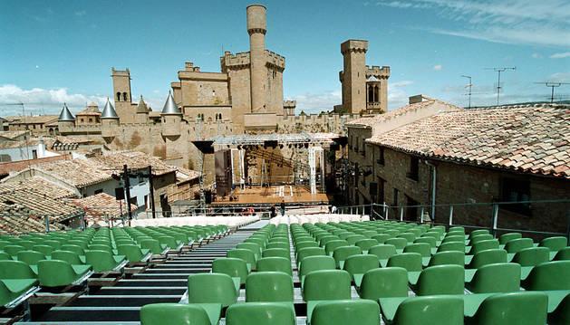 El Festival de Teatro fue de los actos que concitó mayor expectación.