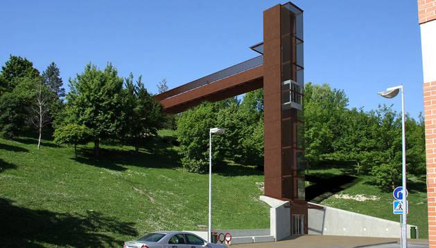 Aprobada la contratación para el ascensor urbano de Mendillorri
