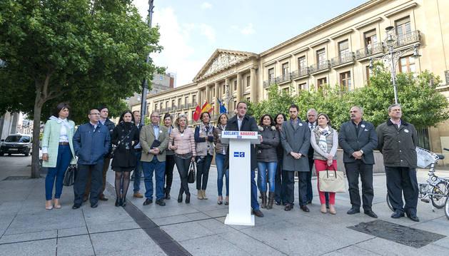 Esparza dice que el domingo Navarra decidirá