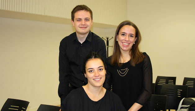 Concierto de flauta, piano y arpa en la Casa de la Juventud de Pamplona