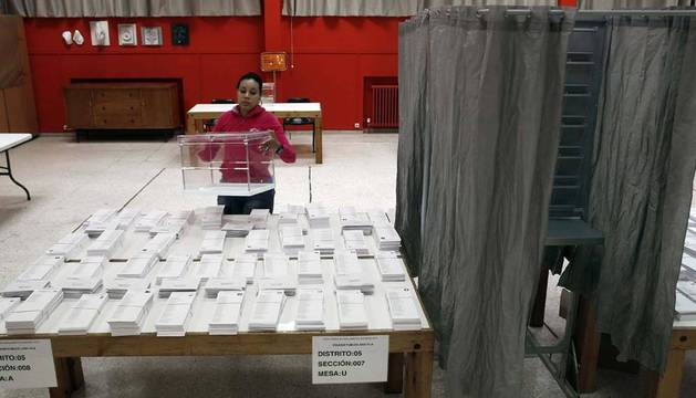 Un total de 481.240 navarros están llamados a votar el domingo