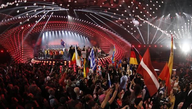 Escenario de Eurovisión 2015.