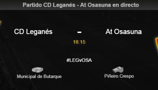 Leganés-Osasuna