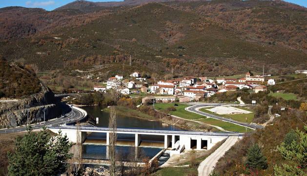 Oroz-Betelu, en el Pirineo navarro.