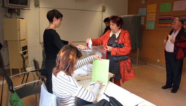 Jornada electoral en Navarra