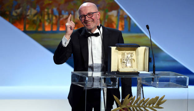 Jacques Audiard, ganador en Cannes.