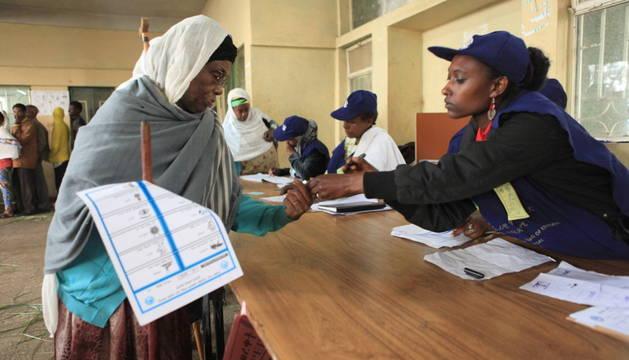 Etiopía concluye las votaciones sin grandes incidentes y espera resultados
