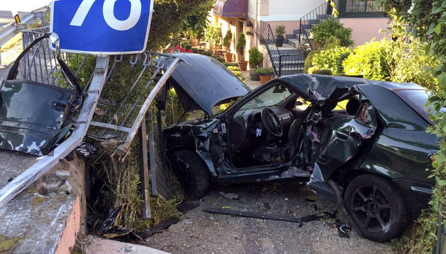 Accidente mortal, este domingo en Ourense.