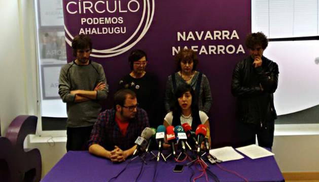 Laura Pérez, en la rueda de prensa de este lunes.