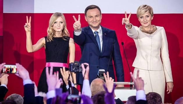 El conservador Duda se perfila como el nuevo presidente de Polonia