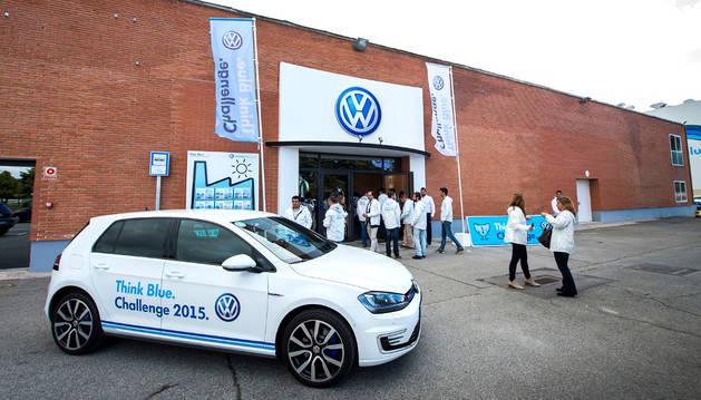Navarra acogió una competición de VW sobre conducción eficiente