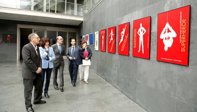 Imagen de la inauguración de la muestra.
