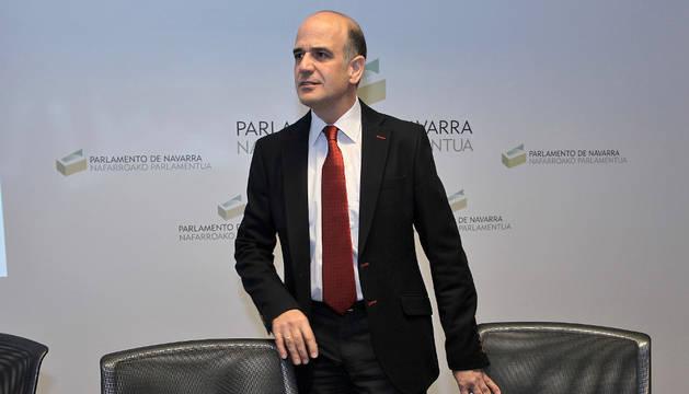 Alberto Catalán, de UPN.