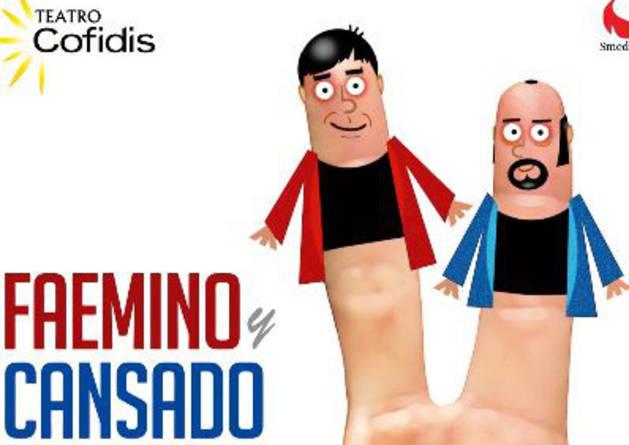 El Gayarre presenta el humor absurdo de Faemino y Cansado