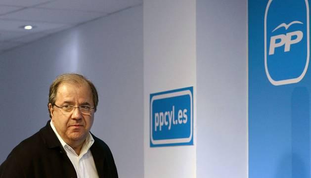 Fotografía del presidente en funciones de Castilla y León y candidato electo del PP, Juan Vicente Herrera.