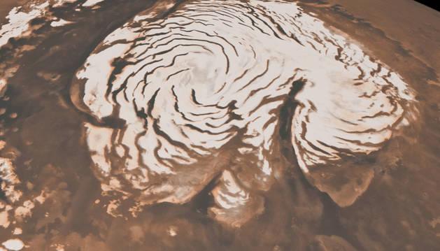 Creado un proyecto para una colonia polar en Marte