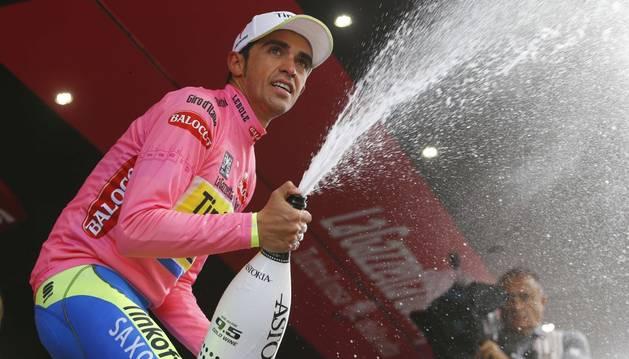 Alberto Contador, más líder.