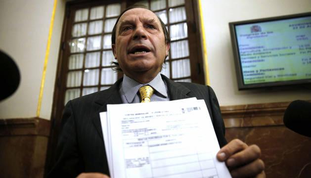 El diputado Vicente Martínez Pujalte.
