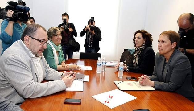 Reunión Geroa Bai-Izquierda Ezkerra