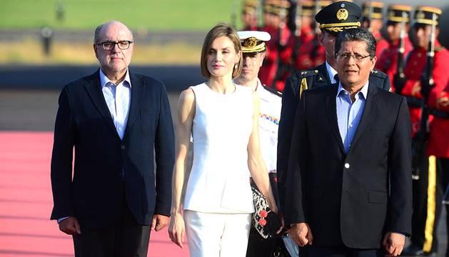 Doña Letizia visita Honduras y El Salvador