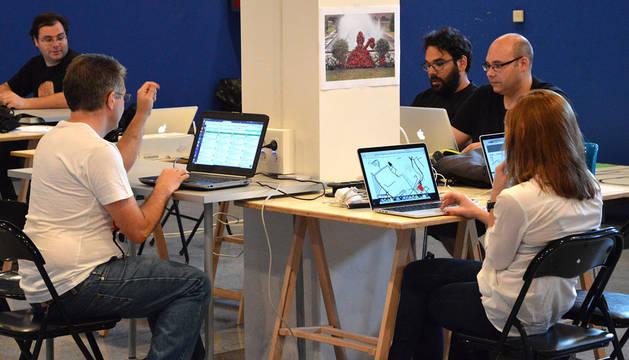 Equipos participantes en la primera edición de #hacksanfermin.