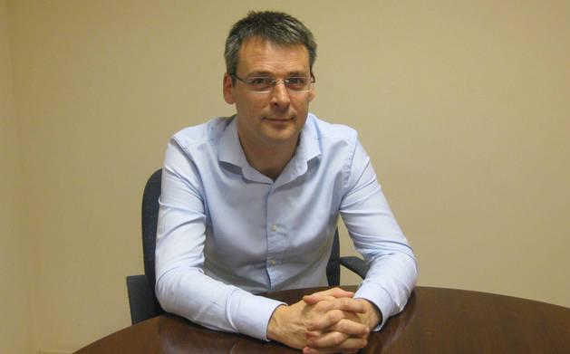 Eduardo Noain, director técnio de Estella Print