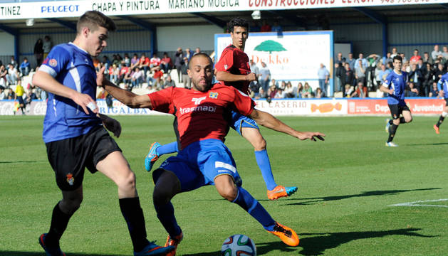 Imagen del partido de ida de la eliminatoria Peña Sport-Formentera.