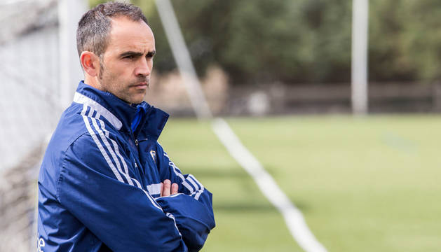 David García, entrenador del Promesas.