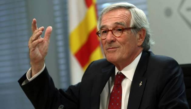 El alcalde de Barcelona en funciones, Xavier Trias (CiU).