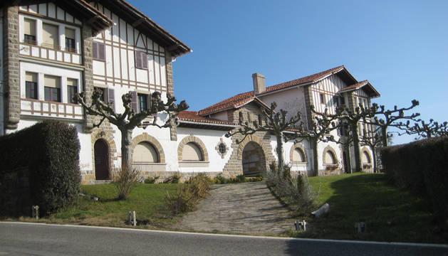 Ayuntamiento de Ultzama, en Larrainzar.