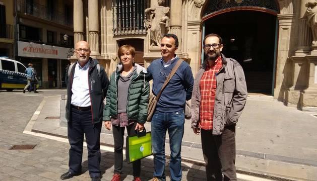 Asiron afirma que Aranzadi apoyará su investidura como alcalde de Pamplona