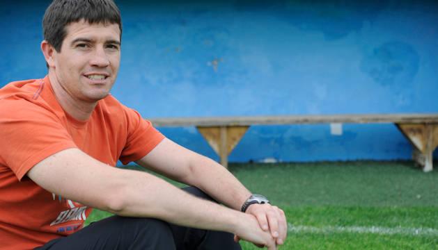David Ruiz, entrenador de la Peña Sport.