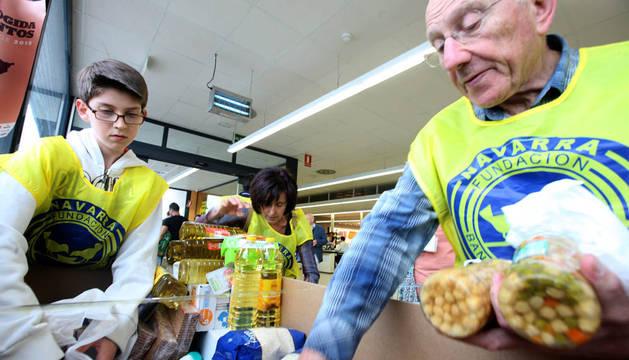 El banco de alimentos de navarra necesita voluntarios para la gran recogida noticias de - Banco de alimentos de navarra ...