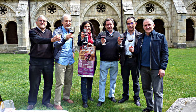 Javier Carmona, Tomás Jaso, Charo Apesteguía, Carlos Gorricho, Luis Albéniz y Blas Astarriaga.