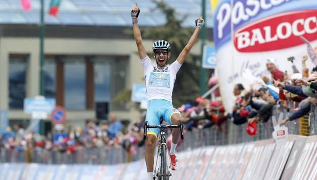 Fabio Aru ganó la penúltima etapa.