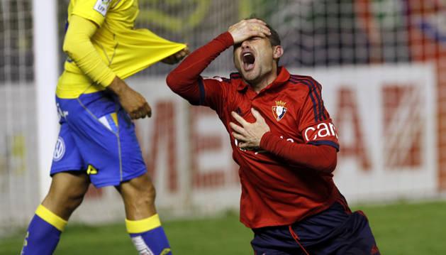 Nino, contra la UD Las Palmas.
