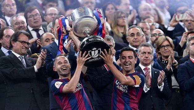 El FC Barcelona se proclamó campeón tras ganar al Athletic Club en el Camp Nou.