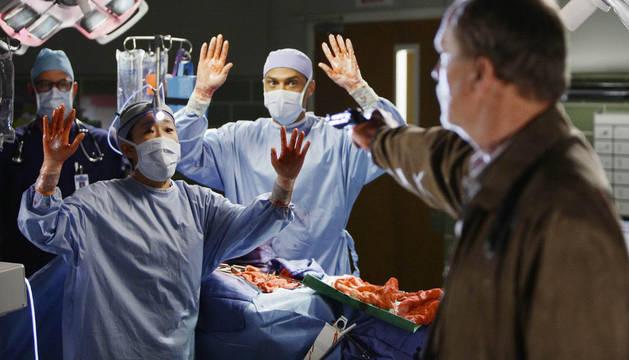 Un momento de la serie 'Anatomía de Grey'.