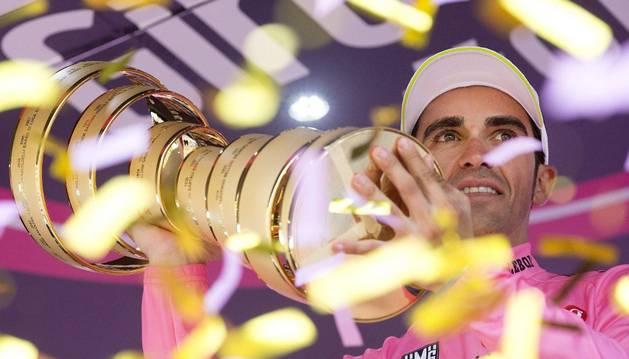 Contador, con su segundo Giro.